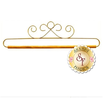 """Craft Holder - 12"""" - French Curl in Gold"""