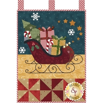 Little Blessings - Santa's Sleigh - December - Pattern