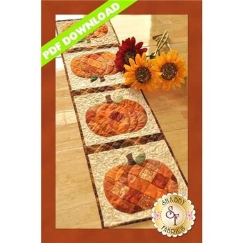 Patchwork Pumpkin Table Runner - PDF DOWNLOAD