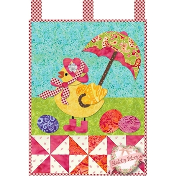 Little Blessings - Miss Chickie - April - Traditional Applique Kit