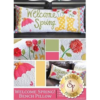 Welcome Spring - Kimberbell Bench Pillow Pattern