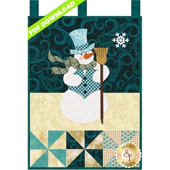 Little Blessings - Mr. Snowman - January - PDF Download