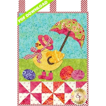 Little Blessings - Miss Chickie - April - PDF Download