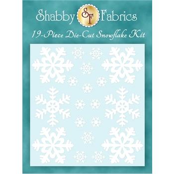 Blessings of Winter - Fresh Snow Die-Cut Snowflake Kit