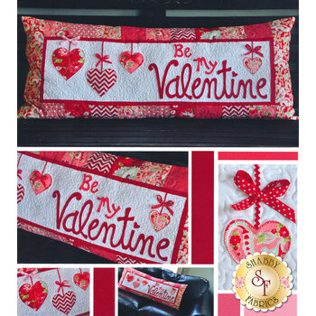 Be My Valentine - Kimberbell Bench Pillow Pattern