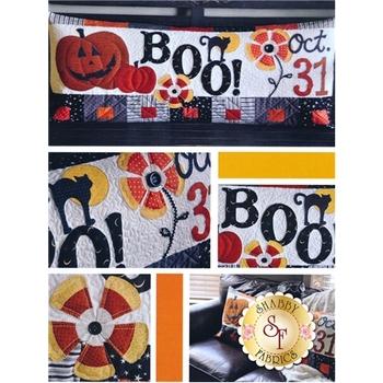 Halloween Boo - Kimberbell Bench Pillow Pattern
