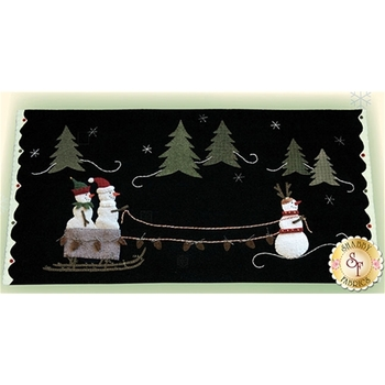 Frosty the Red Nosed Snowman Pattern