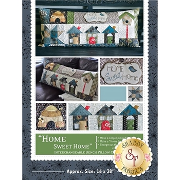 Home Sweet Home - Kimberbell Bench Pillow Pattern