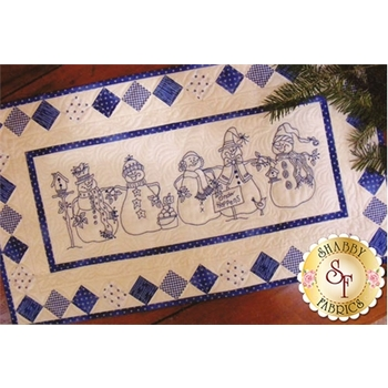 Snow Happens! Table Runner CD for Machine Embroidery