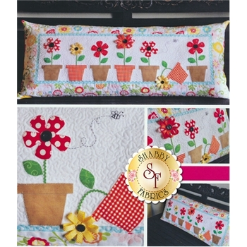 May Flowers - Kimberbell Bench Pillow Pattern