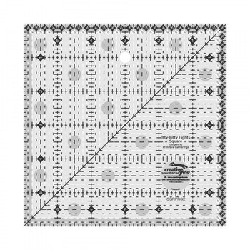 Creative Grids Itty-Bitty Eights Square Ruler - 6