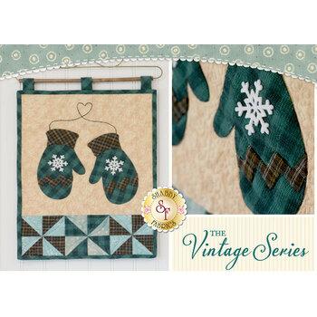 Vintage Series Wall Hanging - January - Pattern