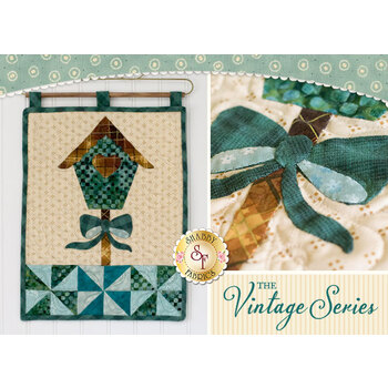 Vintage Series Wall Hanging - March - Pattern