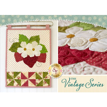 Vintage Series Wall Hanging - June - Pattern