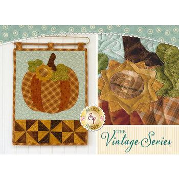 Vintage Series Wall Hanging - October - Pattern