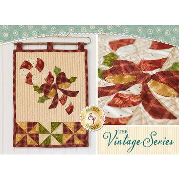 Vintage Series Wall Hanging - December - Pattern