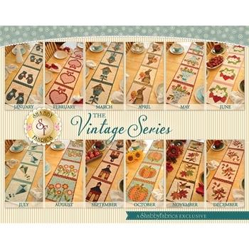 Vintage Series Table Runners - Set of 12 Patterns