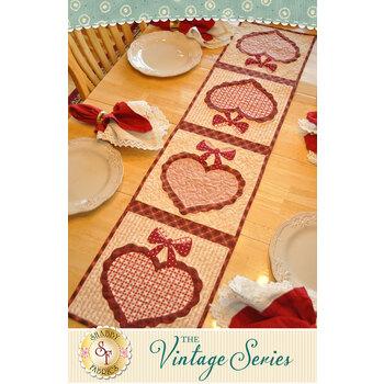 Vintage Series Table Runner - February - Pattern