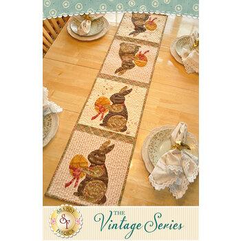 Vintage Series Table Runner - April - Pattern