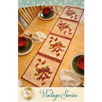 Vintage Series Table Runner - December - Pattern