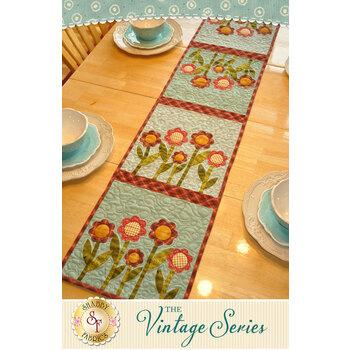 Vintage Series Table Runner - August - Pattern