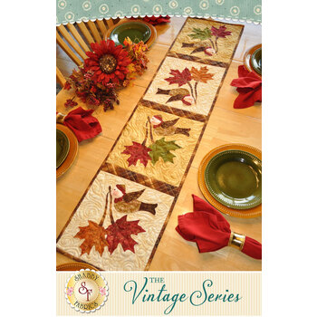 Vintage Series Table Runner - November - Pattern