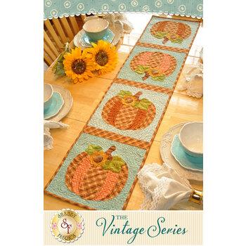 Vintage Series Table Runner - October - Pattern