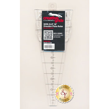 Creative Grids 18° Dresden Plate Ruler #CGR18CF