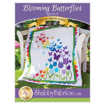 Blooming Butterflies Quilt Pattern
