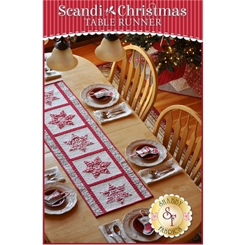 Scandi Christmas Table Runner Pattern
