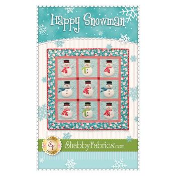 Happy Snowman Quilt Pattern