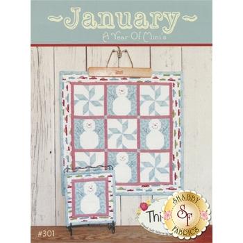 A Year Of Mini's Pattern - January