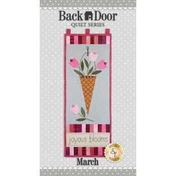 Back Door Wall Hanging - Joyous Blooms - Laser Cut Kit