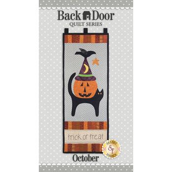 Back Door Wall Hanging - Trick Or Treat - Laser Cut Kit