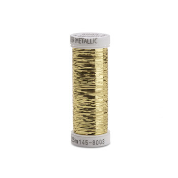 Sulky Sliver Metallic - #8003 Light Gold Thread - 250yds