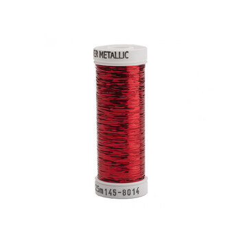 Sulky Sliver Metallic - #8014 Christmas Red Thread - 250yds