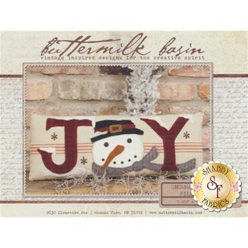 Snowman Joy Pillow Pattern