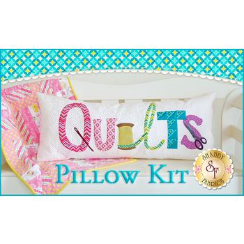 Quilts Pillow - Laser Cut Kit