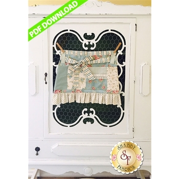 Cottage Style Crafter's Apron - PDF DOWNLOAD