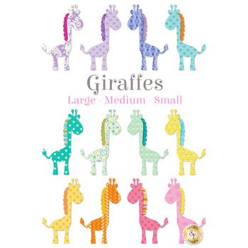 Laser Cut Giraffes - 3 Sizes Available!