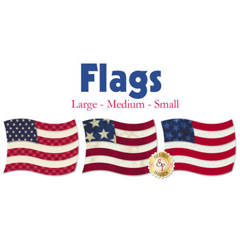 Laser Cut Flags - 3 Sizes Available!