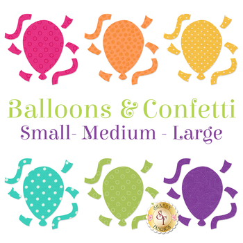 Laser Cut Balloons & Confetti - 3 Sizes Available!