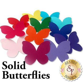 Laser Cut Solid Butterflies - 4 Sizes Available!