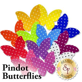 Laser Cut Pindot Butterflies - 4 Sizes Available!