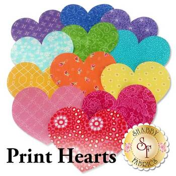 Laser Cut Print Hearts - 3 Sizes Available!
