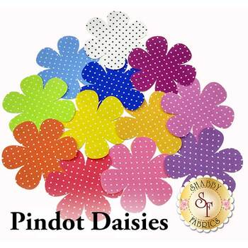 Laser Cut Pindot Daisies - 4 Sizes Available!