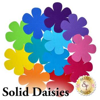 Laser Cut Solid Daisies - 4 Sizes Available!