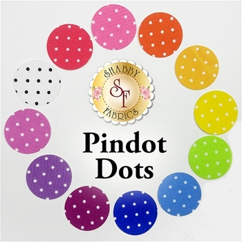 Laser Cut Pindot Dots - X-Large