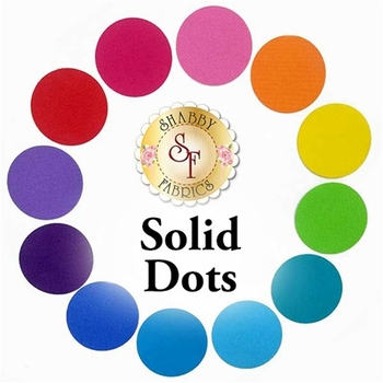 Laser Cut Solid Dots - 4 Sizes Available!
