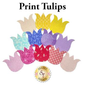 Laser Cut Print Tulips - 4 Sizes Available!